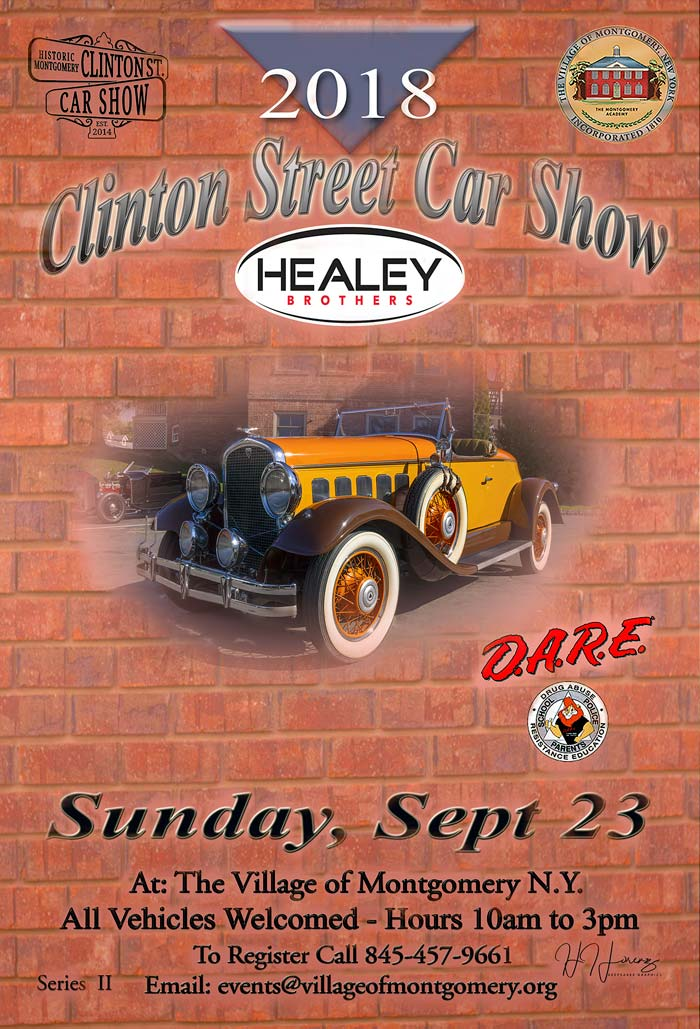 Village Of Montgomery Classic Antique Car Show - Classic car show york